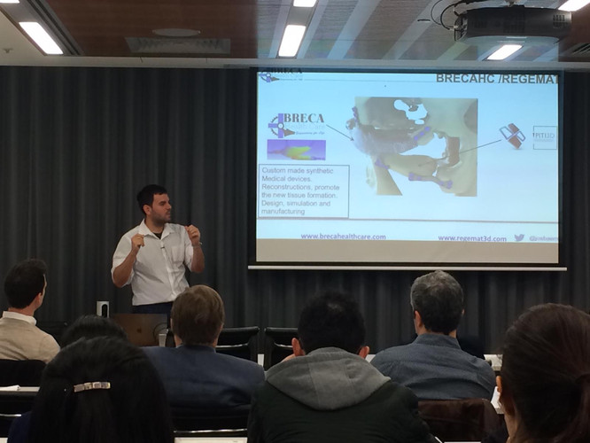 Dr Jose Manuel Baena (CEO, REGEMAT3D)