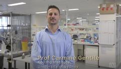 Carmine featuring in ABC Catalyst (2017)