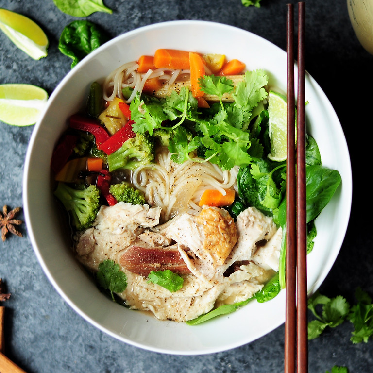 Cultured Cooking: Pho and Knife Skills Class