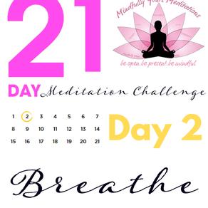 Day 2 - 21 Day Meditation Challenge