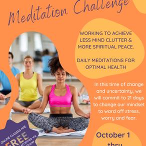 8 Benefits to Meditation