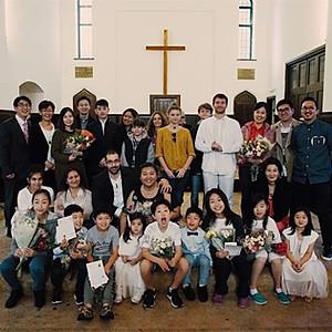 침례식 Baptism 2017