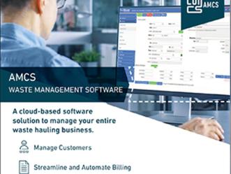 AMCS Waste Management Software - Hauler Magazine - July Issue