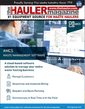 AMCS Waste Management Software - Hauler Magazine - July Issue