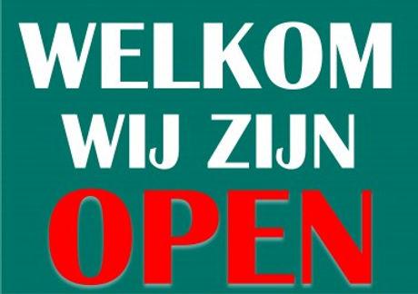 Wij hebben berichtgeving gekregen dat de winkel, zoals gewoonlijk, de deuren mag blijven openen.  Vo