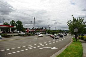 Cedar Hills Boulevard at Walker Road in Beaverton