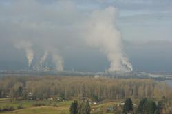 Steam from Longview, Washington