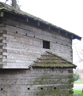 Former blockhouse to Fort Yamhill