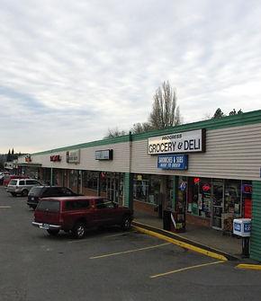 Strip mall in Progress near Oregon 217