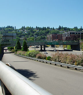 Interstate 405 in Portland at US 26