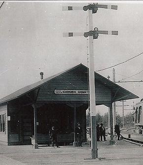 Garden Home train depot