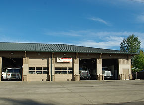 Banks Fire Station on Oregon 47