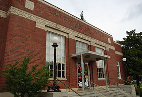 Post office in Newberg