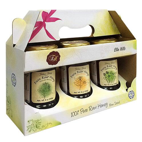 艾拉山 - 蜂蜜禮盒套裝 (純天然以色列進口)