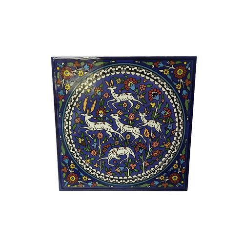 瓷磚 - 鹿 (15cm)