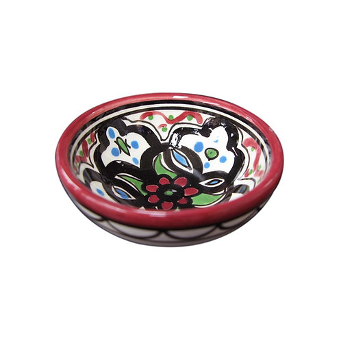 Small Flower Bowl (9cm) Red