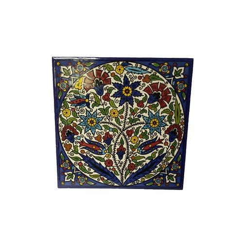 Flower Tiles (15cm)