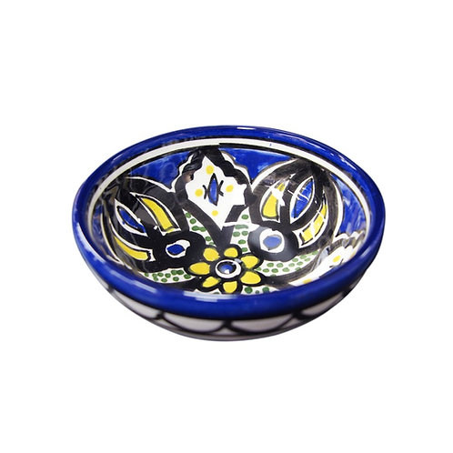 Small Flower Bowl (9cm) Blue