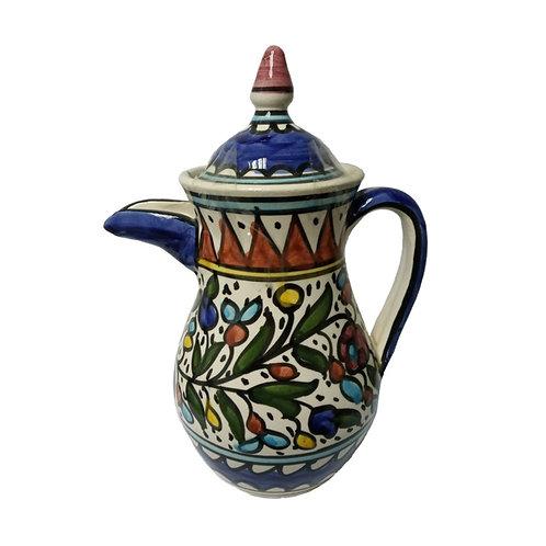 Color Flower Teapot