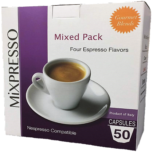 Mixed Pack Flavors Capsule Coffee (50's)