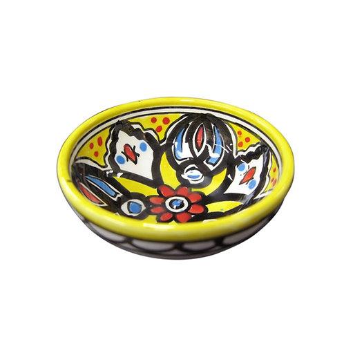 Small Flower Bowl (9cm) Yellow