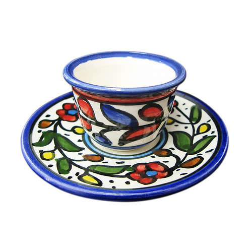 Small Cup with Saucer (1set)