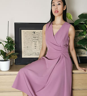 lagom-ravello-midi-dress-dusky-pink-fron