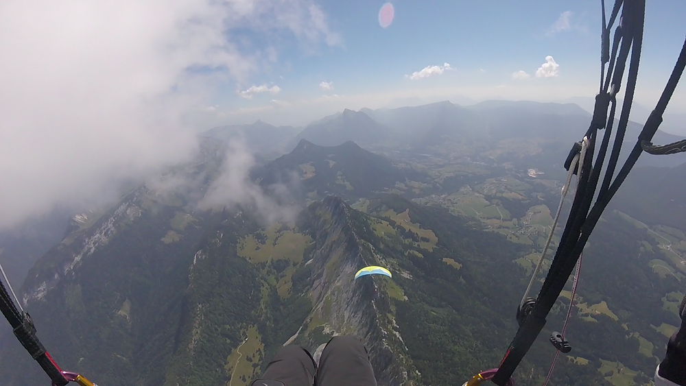 Paragliding in Annecy