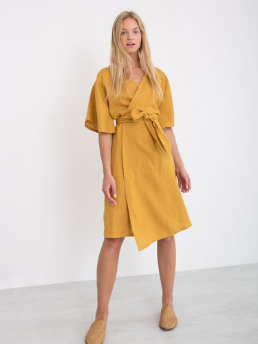 MARY-Linen-Wrap-Dress-Mustard-2-780x1040