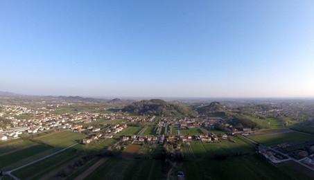 Flying in Bassano