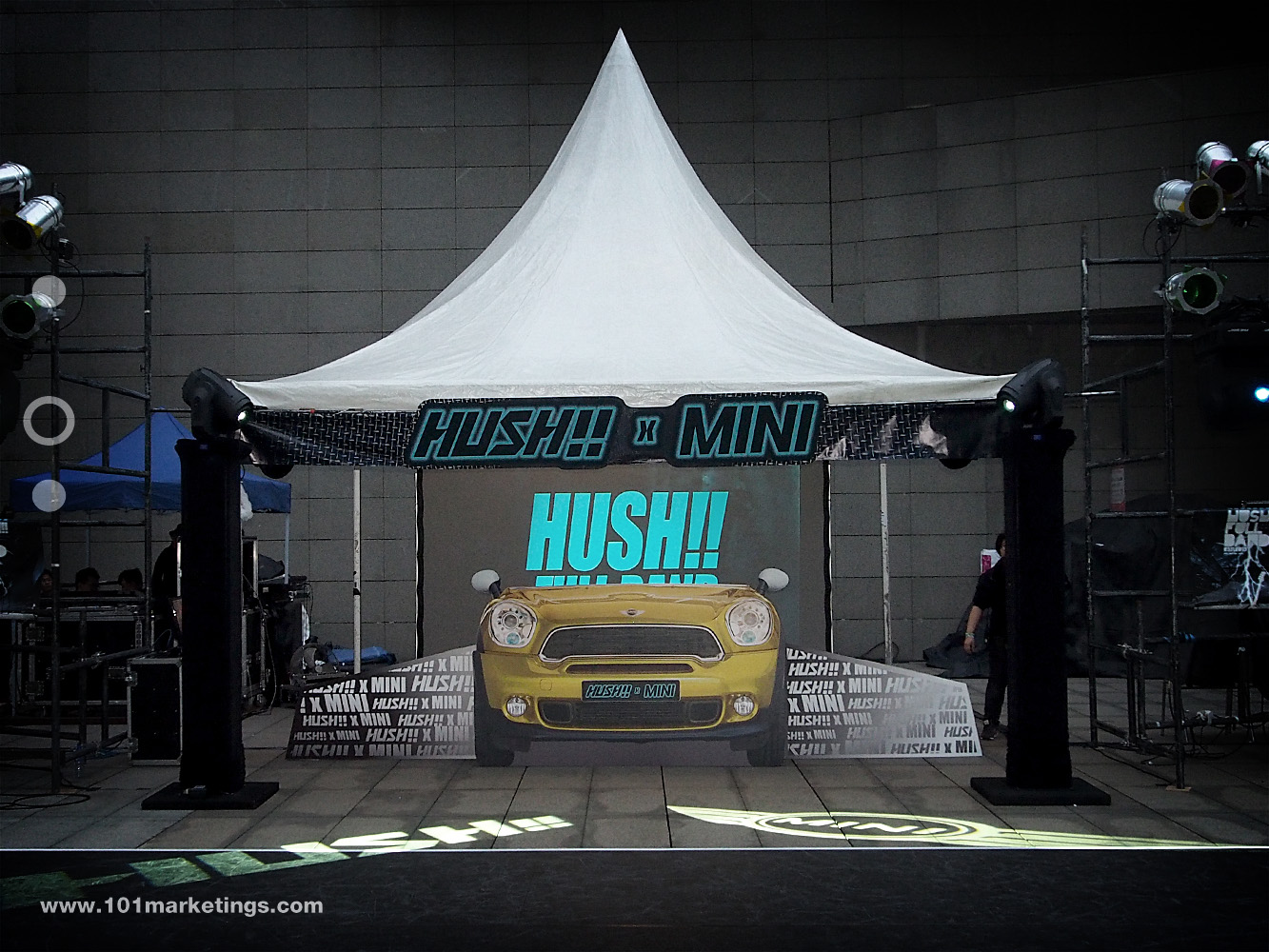 Mini Cooper Music Show in Macau