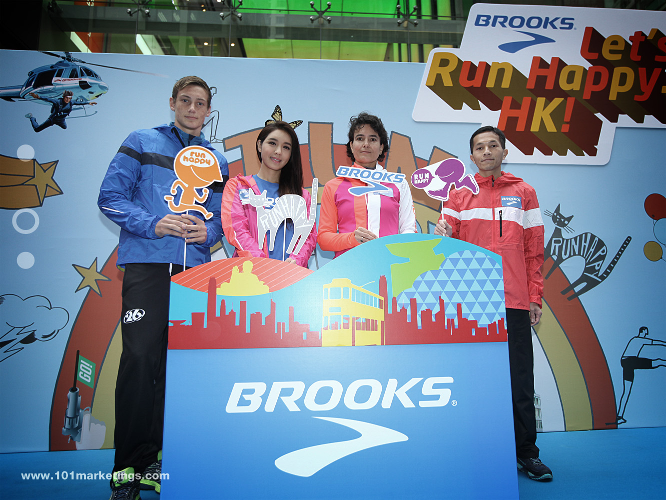 BROOKS Official Launch in HK