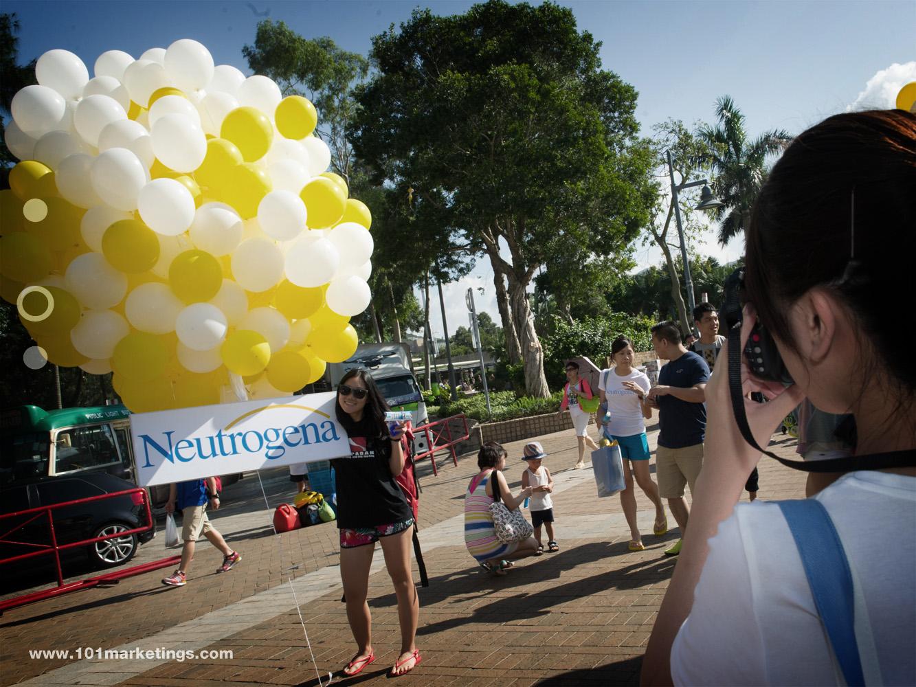 Neutrogena beach promotion