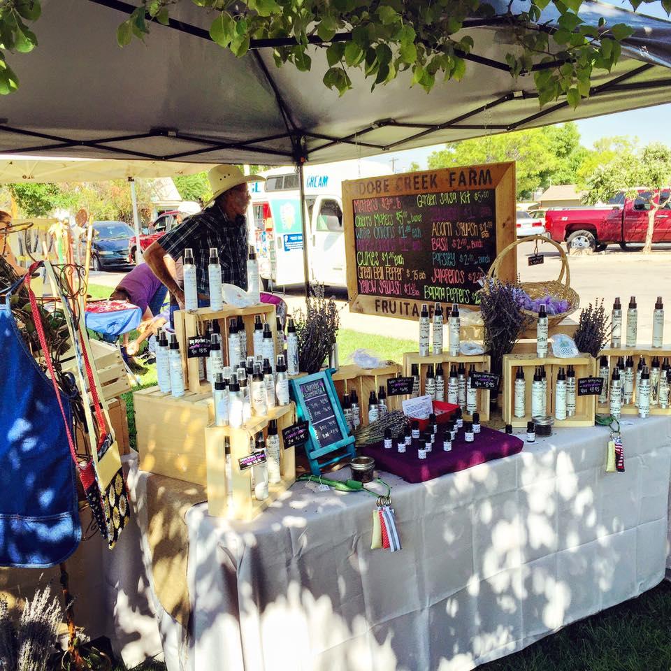 Lavender @ Fruita Farmers Market