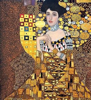 Or-peintures-de-Gustav-Klimt-Portrait-D-