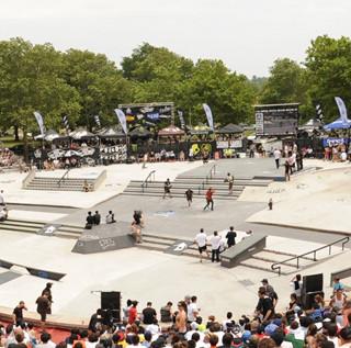 Flushing Meadows Skate Plaza, NY