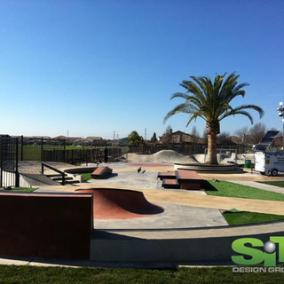 Elk Grove Skate Park, CA