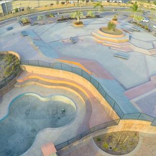Encinitas Skate Park, CA
