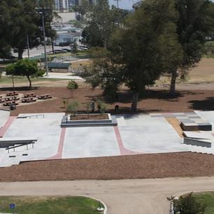 North Hollywood Skate Plaza, CA