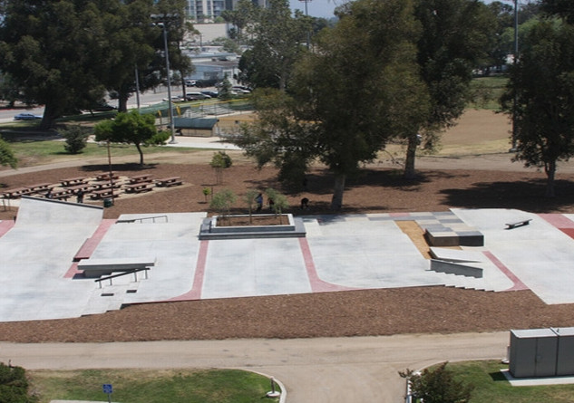 North Hollywood Skate Plaza, CA