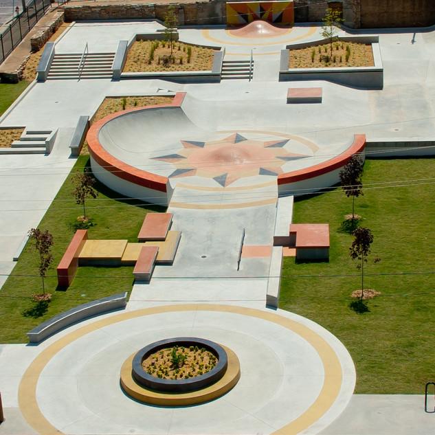 Poplar Bluff Skate Plaza