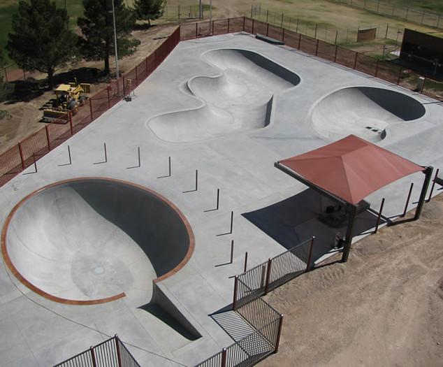 Santa Rita Skate Park, CA
