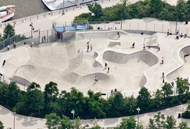 Pier 62 Skate Park, NY