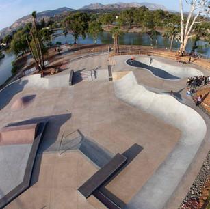 Lake Side Skate Park, CA