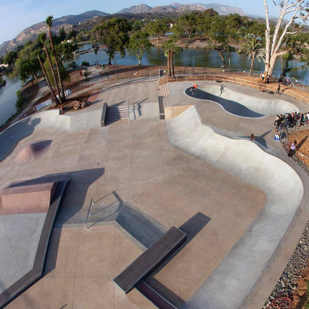 Lake Side Skate Park, CA