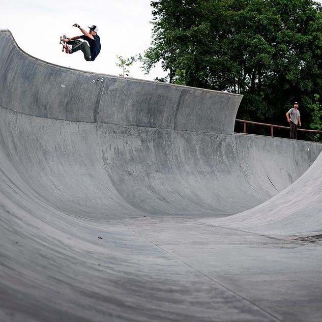 Fælledparken Skatepark, Denmark