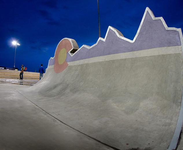 Parker Skate Park, CO