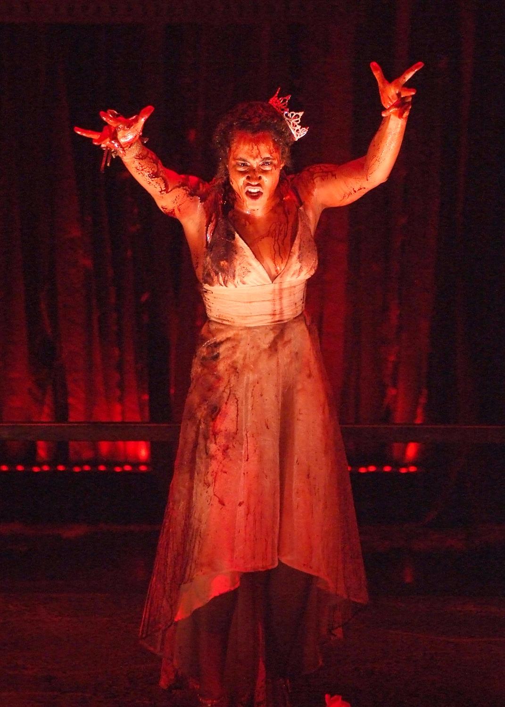 Tiana Okoye as Carrie in CARRIE