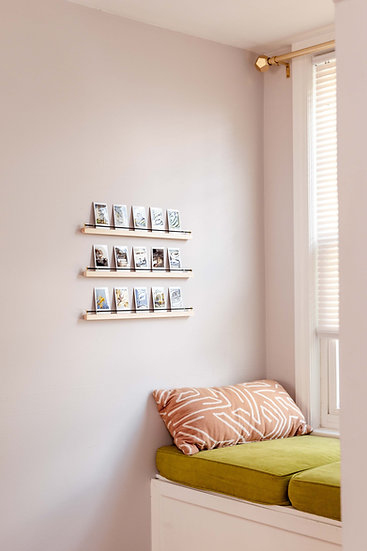 polaroid shelves