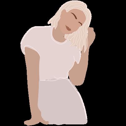 portrait illustration by arynlei creative co.